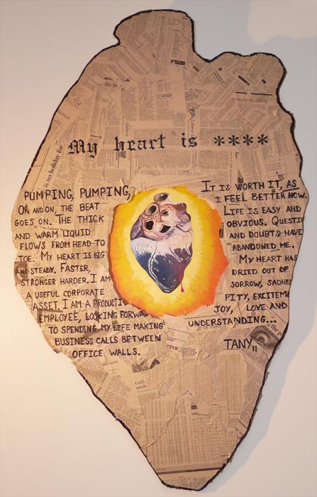 my heart is