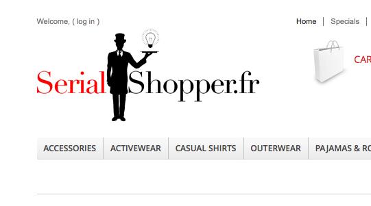 screenshot Serial Shopper Draft 5